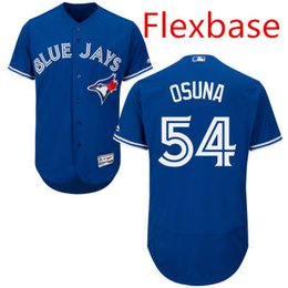 2017 blue jays cool base Roberto Osuna Jersey Toronto Blue Jays Baseball Vintage Flexbase Cool Base Stitched Button White Grey Blue Red cheap blue jays cool base