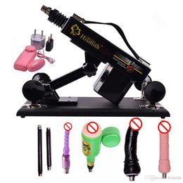 Wholesale Luxury Automatic Sex Machine Gun Set for Men and Women Fucking Machine with Male Masturbation Cup and Big Dildo Sex Toy