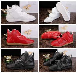 2016 Estilo Novo Maison Martin Margiela Sneakers Alta Qualidade Couro Sapatos Casuais Moda Masculina Marca De Luxo Calça Esportes Tênis Eur 38-46