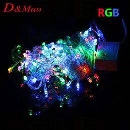 Outdoor Led Party Lights: 2016 Wholesale Outdoor Led Party Lights 220V 10M 100 LEDs String lamp Outdoor  Led christmas light,Lighting