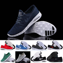 Discount Shoes Run Air Max 2016 New modle Air fashion SB Stefan Janoski Max Men running shoes athletic walking shoes Sneakers shoes Size 40-45 Free Shipping
