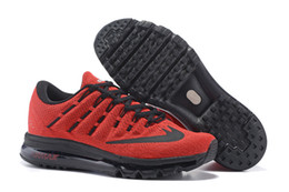 Discount Shoes Run Air Max Wholesale 2016 Cheap Running Shoes Men 2016 Sneakers High Quality Original Discount Air Walking Blue Green Men's Max Sports Shoes Size 7-12