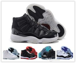 2016 Air Retro Gamma Blue basketball shoes Retro XI Athletic Shoes XI Retro Bred sports shoes Air retro Sneakers factory store online