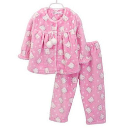 Discount Girls Cotton Flannel Pajamas | 2017 Girls Cotton Flannel ...