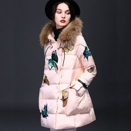 Discount Real Womens Down Coat   2016 Womens Down Coat Real Fur on