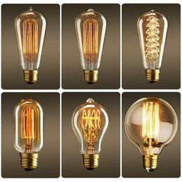Light Bulb Industry: Edison light bulb American industry retro warm lights bulbs incandescent  bulbs chirstmas decor lamp bulb nostalgic,Lighting