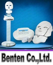 3 в 1 Маска Photon Therapy СИД лица NeckFace PDT машина для лица с подставкой салон красоты Польза для омоложения кожи LLFA6137