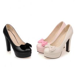 Discount Women Chunky Heels Dress Shoes   2016 Women Chunky Heels ...