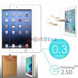 Prima de vidrio templado protector de la pantalla para el iPad de Apple 9.7