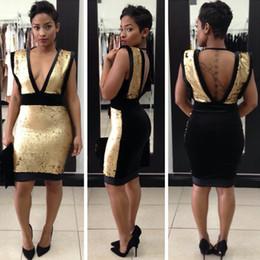 Summer dress black vs gold