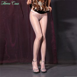 Wholesale Womens Girls Sexy Sheer Hot Oil Shiny Glossy Classic Stocking Pantyhose Tights