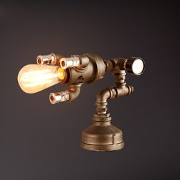 Discount industrial pipe light fixture 2016 industrial for Iron accents promo code