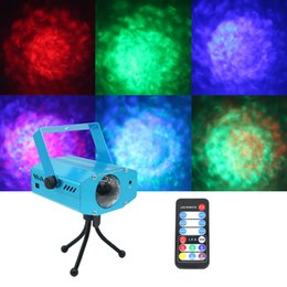online shopping 5W RGB Professional Stage Light Water Wave Action Ripple Projector For Party Show Entertainment Disco KTV Background Amazing Effect