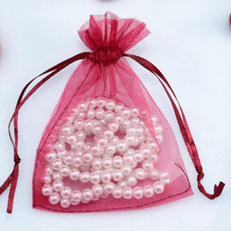 Wholesale 2016 Organza Favor Bags x12cm Wedding Jewelry Packaging Pouches Nice Gift Bags