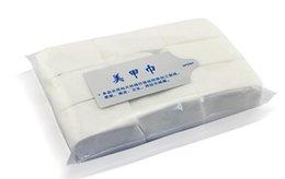 Wholesale 900pcs Nail Tools Nail Polish Remover Wipes Nail Art Tips Manicure Nail Clean Wipes Cotton Lint Pads Paper