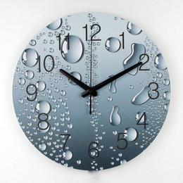online shopping designer wall clock modern home decoration d wall decor clcoks living room decor silent