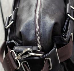 mens designer bags w62u  Men messenger bags fashion mens leather big size shoulder bag men famous  designer brands high quality men's travel bags A2G68