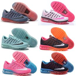 Discount shoes run air max Drop Shipping Top Quality max 2016 for Women Running air 2017 Sports Trainers Outdoor Kids Shoes free shipping