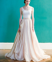 Discount Blush Colored Wedding Gowns   2017 Blush Colored Wedding ...