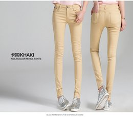 Discount Khaki Pants Tight | 2017 Tight Khaki Pants Women on Sale ...