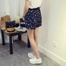 Wholesale Pantalones cortos de talla grande XL XL Pantalones cortos de impresión Casual Color azul Tipo suelto Verano Deportivo Harajuku