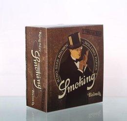 Meilleures ventes Smoking Brand New Sealed 130mm x 110mm Taille Cigarette Papers New Emballage Papiers Papiers Arrivée fumeur Livraison gratuite