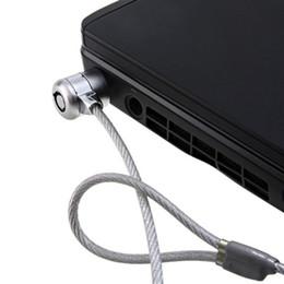 180pcs / lot PC portable Notebook Chaîne Câble d'ordinateur Sécurité Expédition Key Lock Free