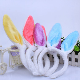 online shopping Halloween Cosplay Costumes Adult Kids Fashion Hair Hoop Rabbit Ears Head Hoop Hairpin Ornaments Rabbit Girls Bunny Girl Party Props