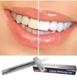 Wholesale 2016 Popular White Teeth Whitening Pen Tooth Gel Whitener High Strength Bleach Remove Stains oral hygiene HOT SALE