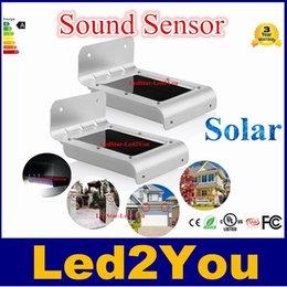 Hot Sale NOUVEAU LED Sensor Solar Light 16 LED extérieur sans fil à énergie solaire lampe PIR détecteur de mouvement / mur / lumières de sécurité