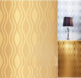 gold silver modern stylish simple luxurious glitter textured feature non woven wallpaper 3d design effect background wall - Textured Wall Designs