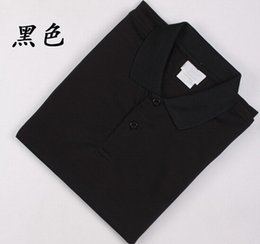 Wholesale OEM Polo shirt cotton blend embroidery tees tops short sleeve lapel for men S M L XL XXL XXXL PLT2202