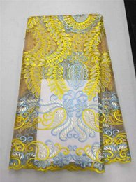 Wholesale 2016 Embroidery lace New And Fashion African Swiss Voile Lace High Quality Cotton Lace Fabric for dress B2