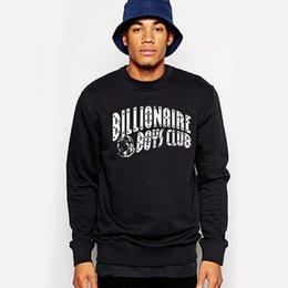 Wholesale Men hip hop hoodies full sleeve pullovers bbc Billionaire Boys Club hoody sweatshirt tracksuit sudaderas moleton masculino