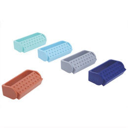 Wholesale Opening Holes Endo Box for Diamond Burs Holder File Sterilizing Endo Container for Burs Resistance to Fall JS014B