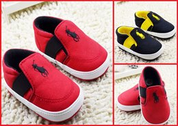 Wholesale New baby toddler shoes spring autumn kids soft bottom shoes months boy canvas shoes guarantee pair B3