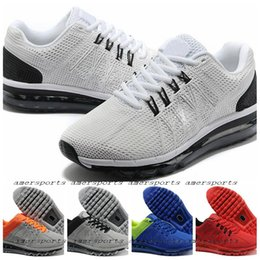 Discount Shoes Run Air Max 2016 100% Original Air Men's Max 2013 Sports Running Shoes Sneakers ,Breathable Athletic Air Shoes For Men Maxes Size 40-47 Free Shipping