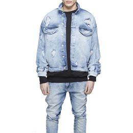 Discount Distressed Denim Jackets | 2017 Distressed Denim Jackets ...