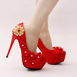 Color shoes for red dress
