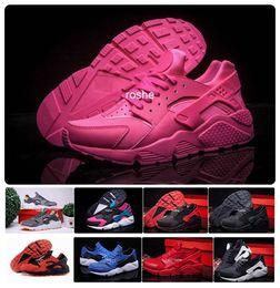Классические Huaraches кроссовки для женщин мужчин, дышащая Дешевые Air Huarache Спортивный Спорт Кроссовки Размер 36-45 Eur