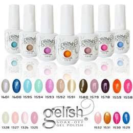 Wholesale Top quality Harmony Gelish Colors ml Gel Polish Nail Accessories UV Color Gel Soak Off Nail Gel b331