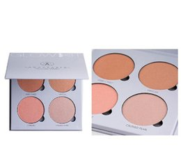 Wholesale 2016 HOT Arrival Anastasia Beverly Hills Glow Kit Makeup Face Blush Powder Blusher Palette Cosmetic Blushes Brand