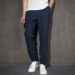 Discount Mens Blue Linen Pants | 2017 Mens Blue Linen Pants on ...