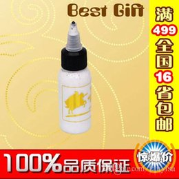Wholesale 2016 Tattoo Inks Makeup Bright white China Yue Fei Tatoo ml Tattoo pigment Tattoo Potion Tattoo supplies and accessories