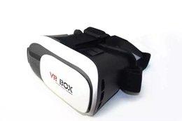 VR de alta calidad mejoró los vidrios 3d VR de la cabeza del montaje VR BOX versión 2.0 VR vidrios virtuales de la realidad 3D
