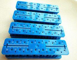 Wholesale 1Set Autoclavable ENDO Mesruring Block Dental File Ruler ENDODONTIC Teeth Whitening Cheap Teeth Whitening