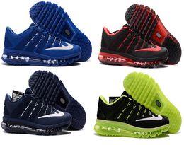 2016 Shoes Run Air Max 2016 Max Mesh Men Running Shoes air casual Discount Original sport shoes AirCushion maxes athletic trainers Sneaker shoes US7-12 kids
