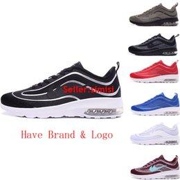 2016 Shoes Run Air Max Double Box Best Quality Max Mercurial FC Trainer Air R98 Men Running Shoes Cristlano Ronaldo 2016 Fashion Sneakers Black White Size 7-11