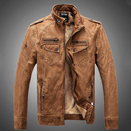 Boys Brown Leather Jacket | Jackets Review