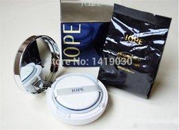Wholesale Vente en gros Top qualité IOPE Air Cushion XP BB Cream Foundation g SPF50 blanchissant Hydratant Correcteur Coussin BB Crème C21 C23 N21 gratuitement